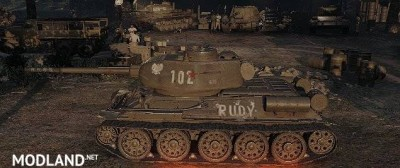 T-34-85M Remodel , 1 photo